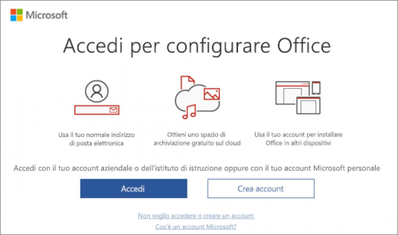 Come rimuovere pop-up richiesta attivazione Office 2016